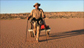 Louis treks across Aussie desert with the help of Greentyres