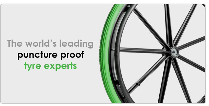The world's leading puncture proof tyre experts